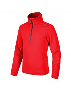 CAMPAGNOLO BOY STRETCH FLEECE SWEAT FERRARI